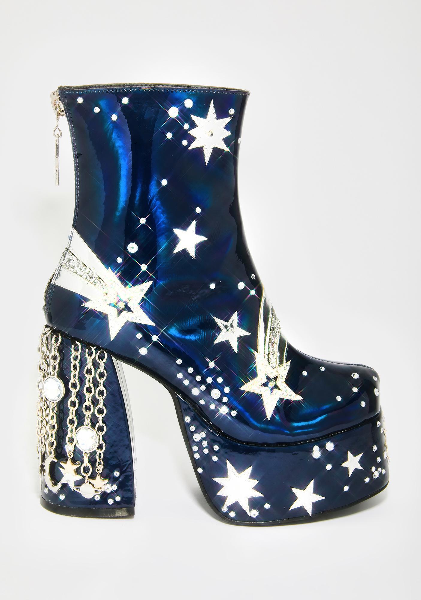 Current Mood Stardust Ascendence Platform Boots