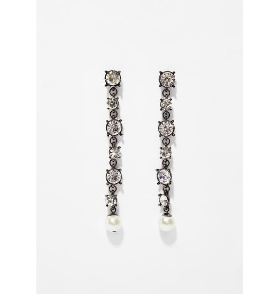 Watch Me Shine Rhinestone Earrings