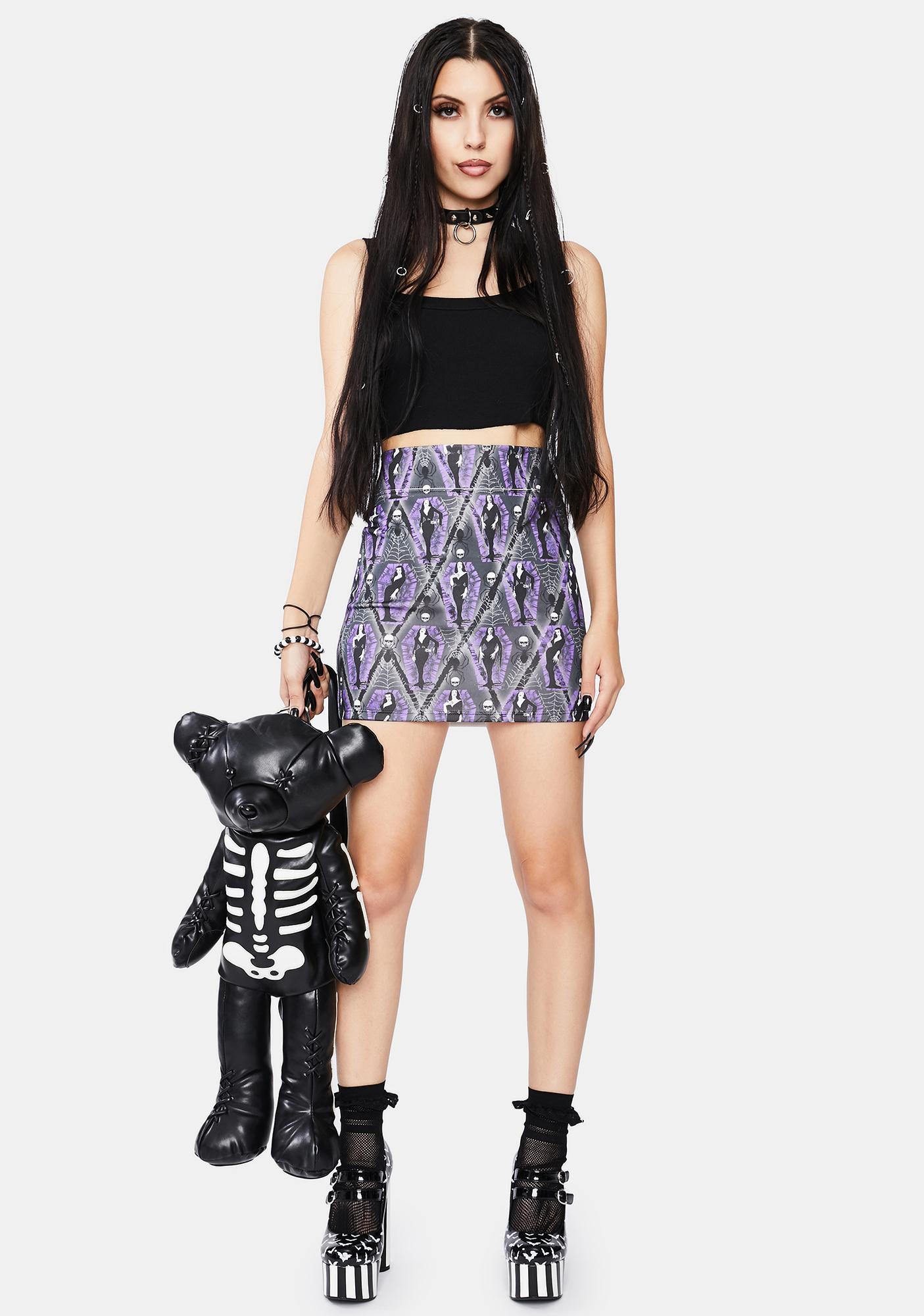 Kreepsville 666 Vampira Ghoul Mini Skirt