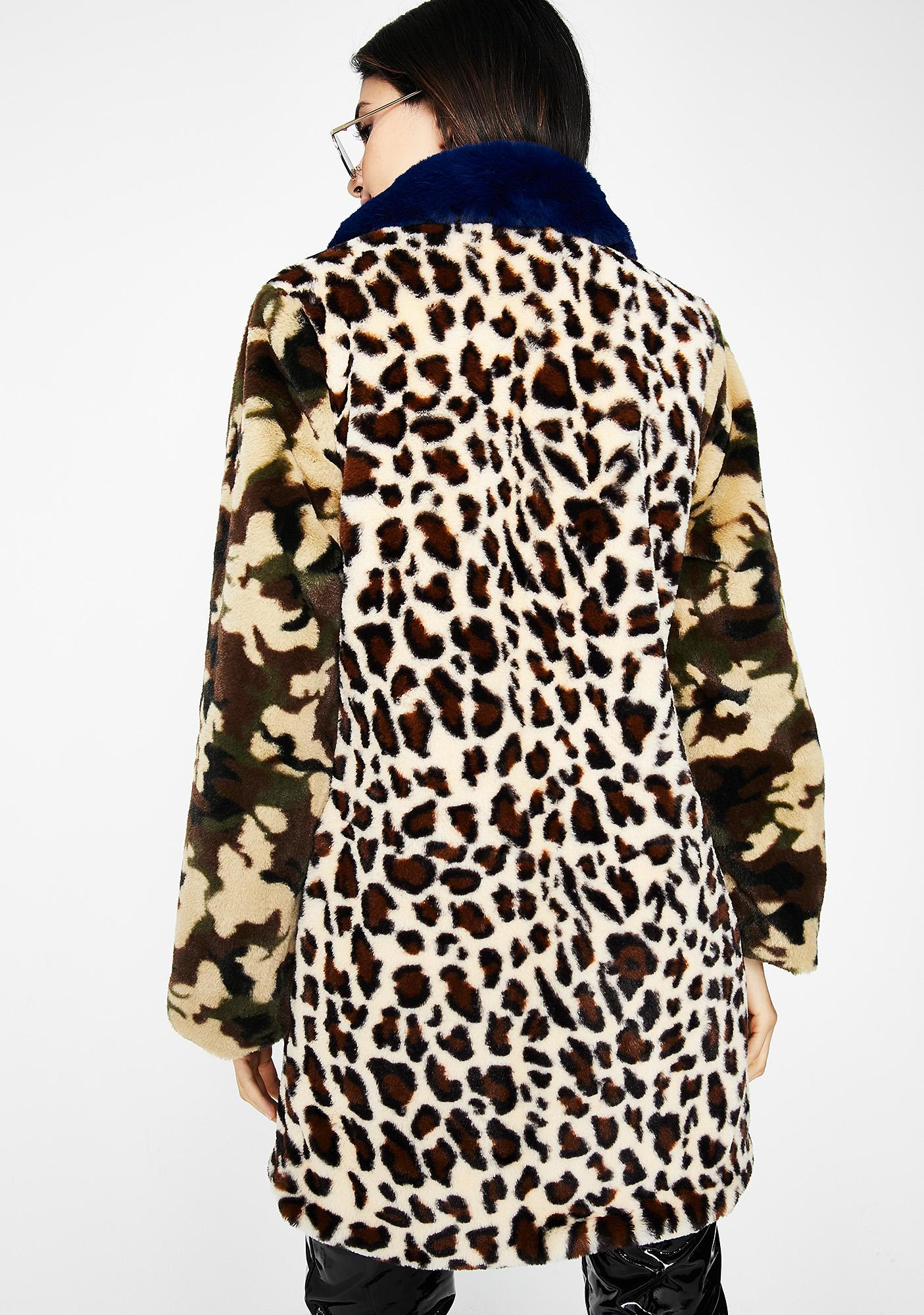 Cougar Life Furry Coat