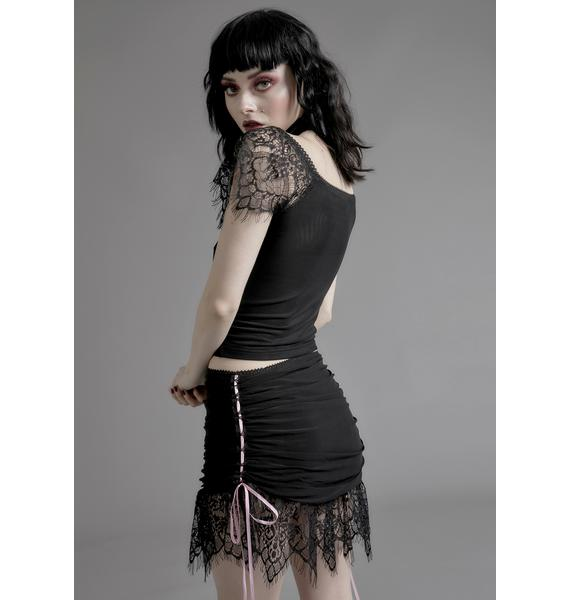 Widow Enchanted Marionette Lace Skirt