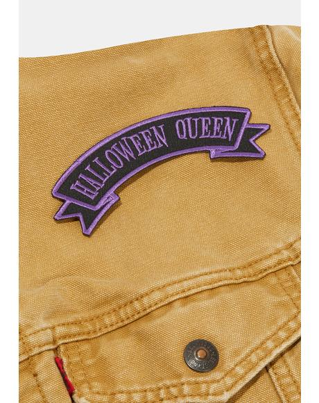 Halloween Queen Arch Patch