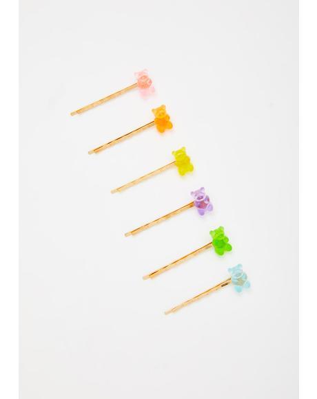Yum Yum Hair Pin Set