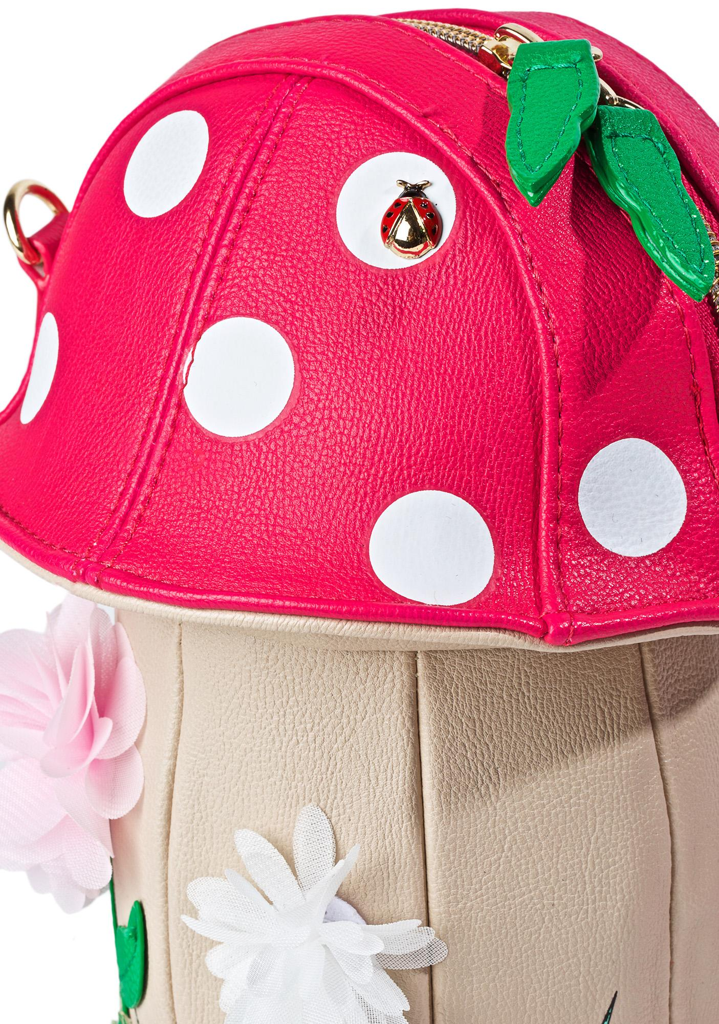 Betsey Johnson Shroomin' Crossbody Bag