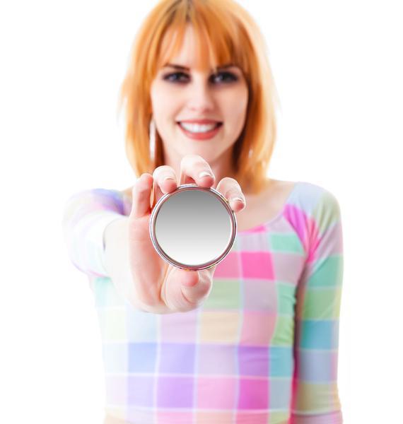 Sweetheart Compact Mirror