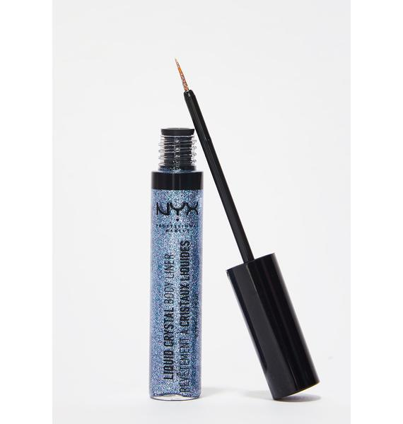 NYX Crystal Pewter Liquid Crystal Body Liner