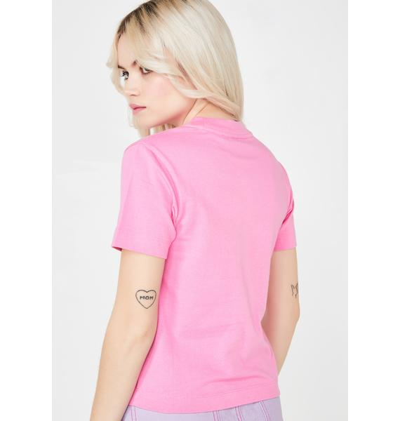 Lazy Oaf Naked Lady Fitted T- Shirt