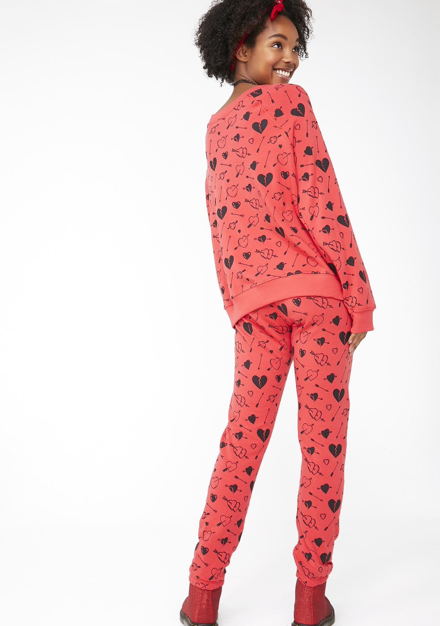 Wildfox Couture Cupid Strikes Knox Pants