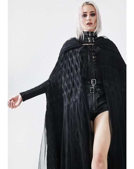 Gothic Rotten Devil Angel Cape