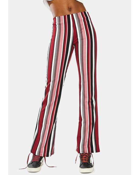 Funk Forever Striped Flare Pants
