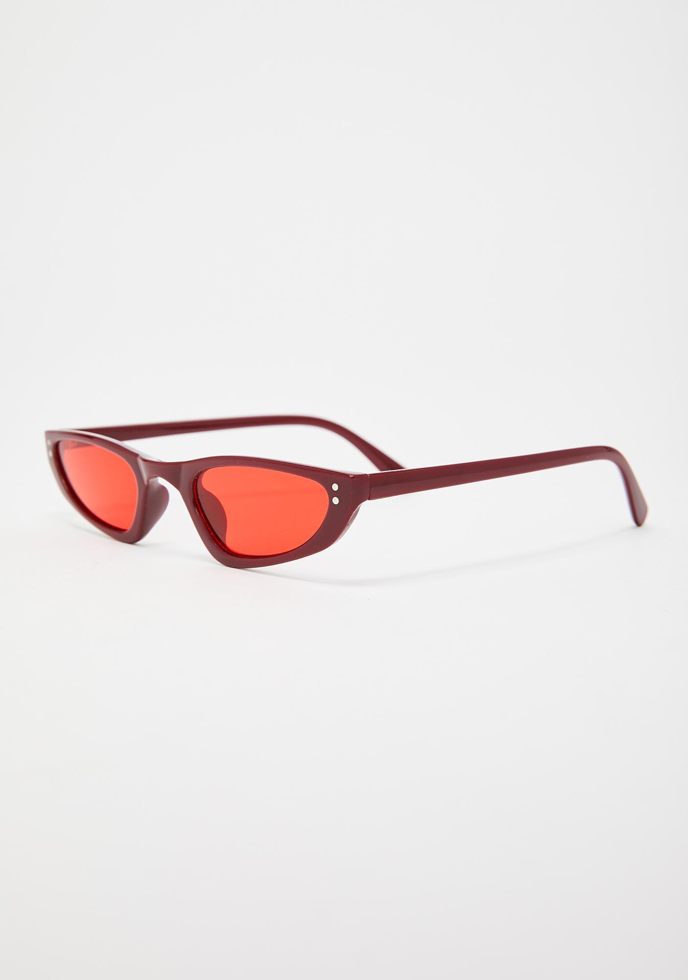 Glam Reaction Cat-Eye Sunglasses