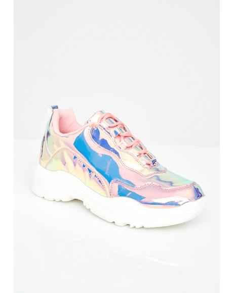 Prismatic Pounce Sneakers