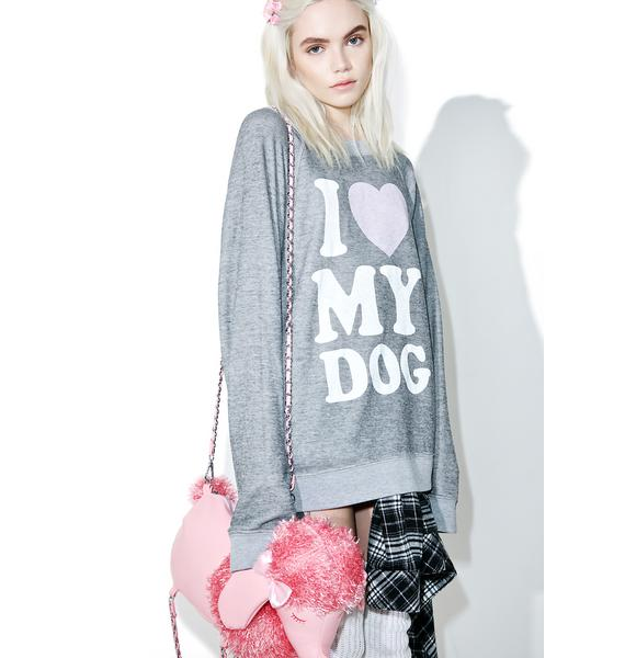 Wildfox Couture Must Love Dogs Sommer's Sweater