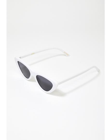 Zoe Cat Eye Sunglasses