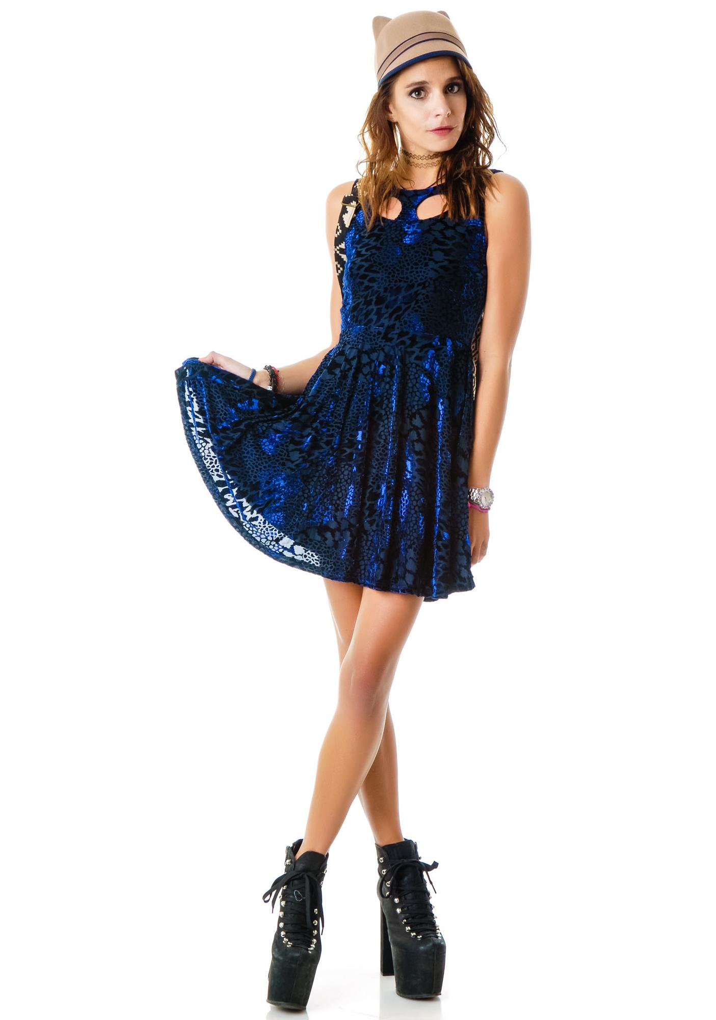 Evil Twin Gattica Skater Dress