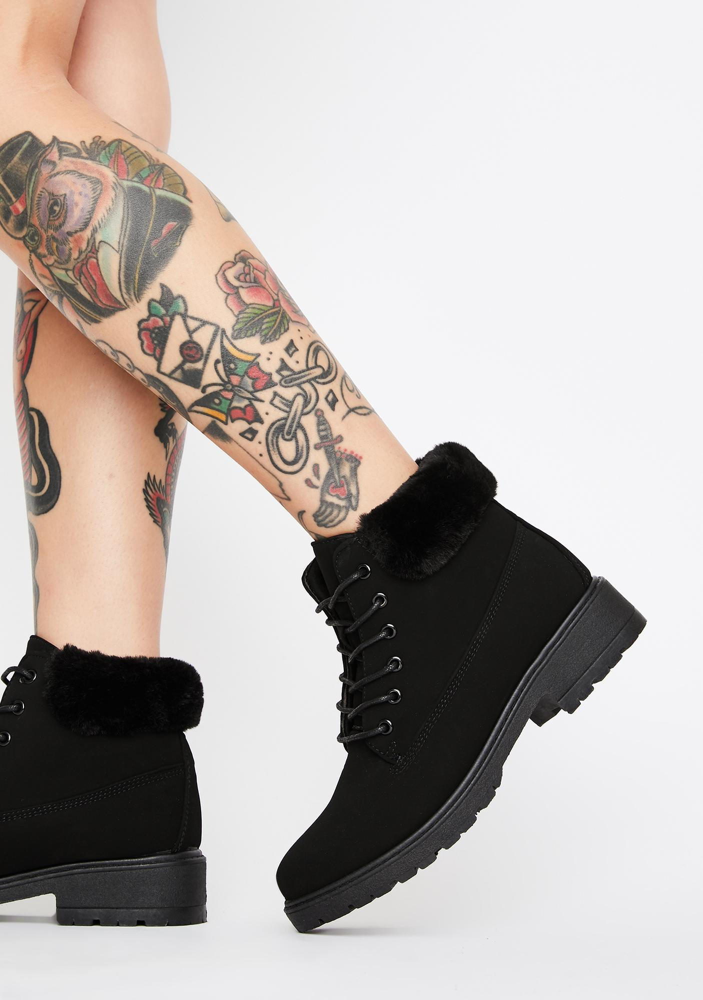 Tragic Wrong Turn Ankle Boots