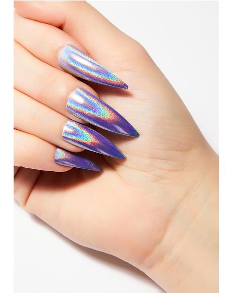 Holographic Nail Set