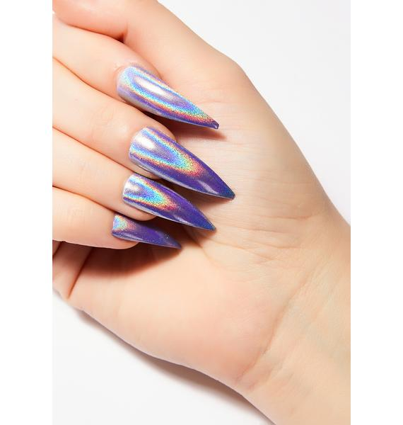 Unicorns Poop Glitter Holographic Nail Set