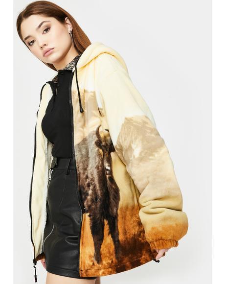 Buffalo Sherpa Hoodie