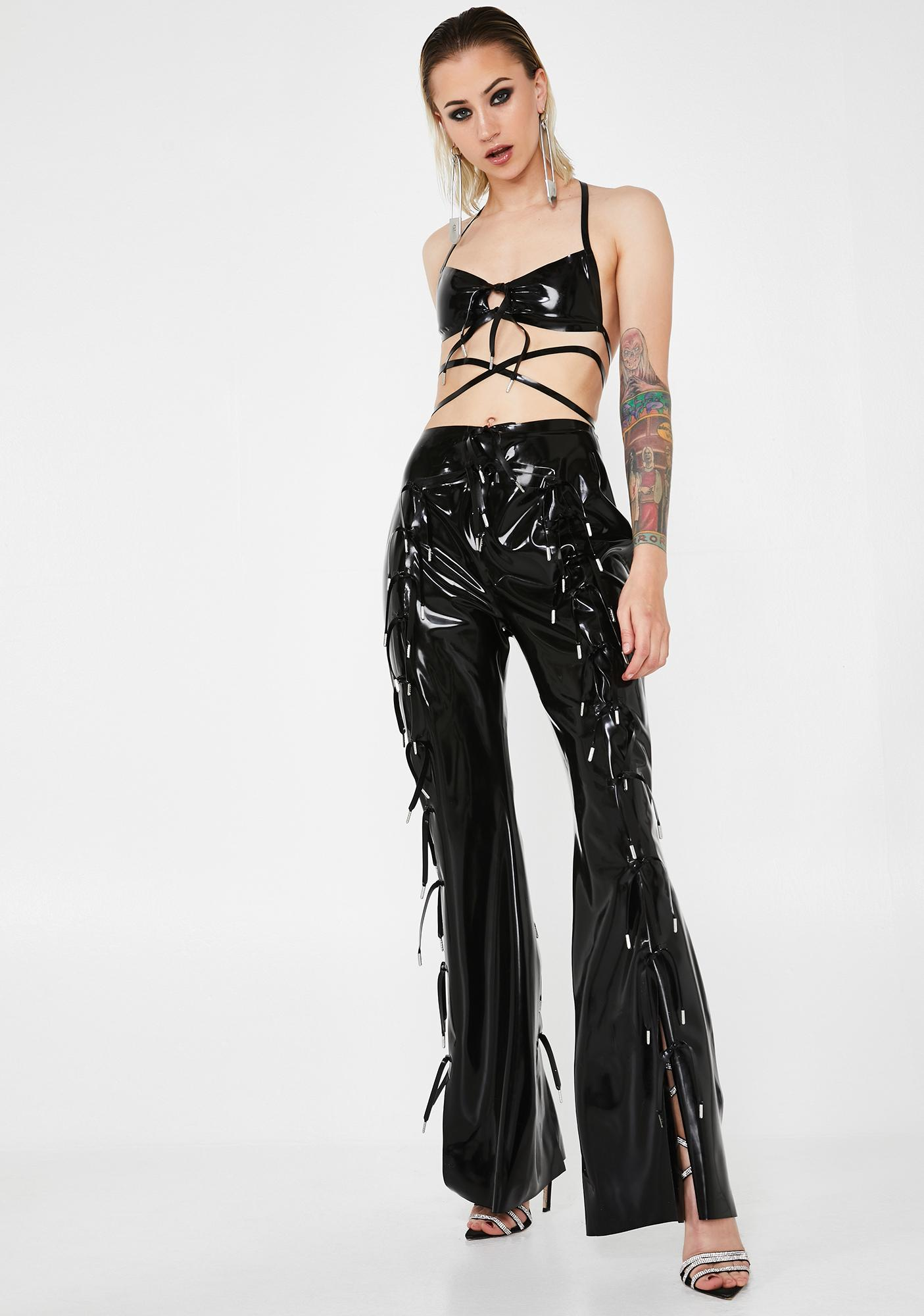 Hanger Expando Latex Trousers