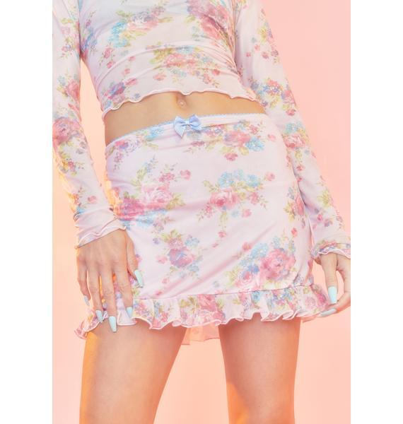 Sugar Thrillz Somebody's Angel Mini Skirt