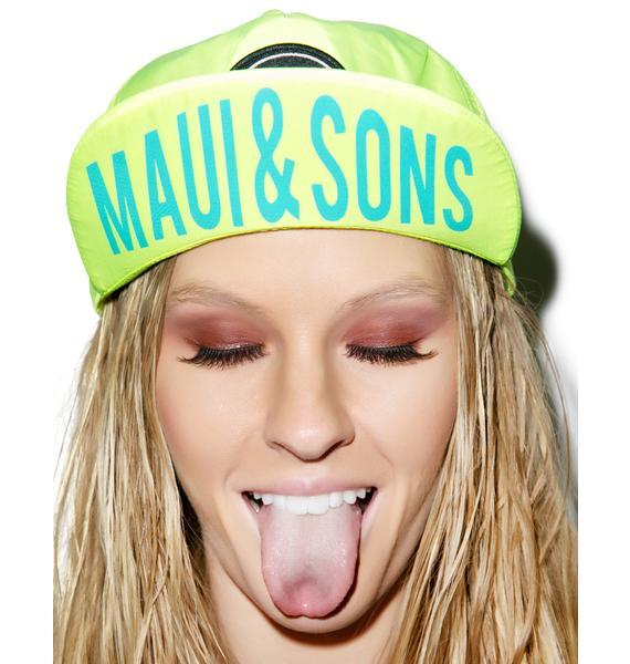 Maui and Sons Surf It Out Cap