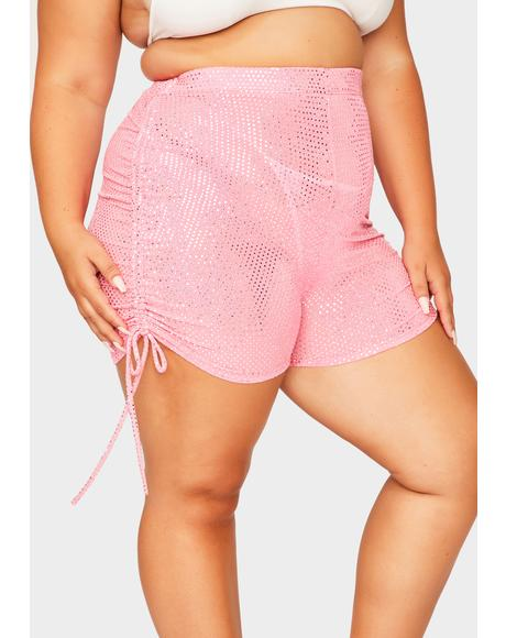 Divine Se-Queen High Waist Shorts