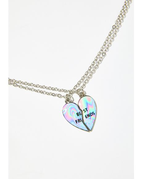 We Belong Together BFF Necklace
