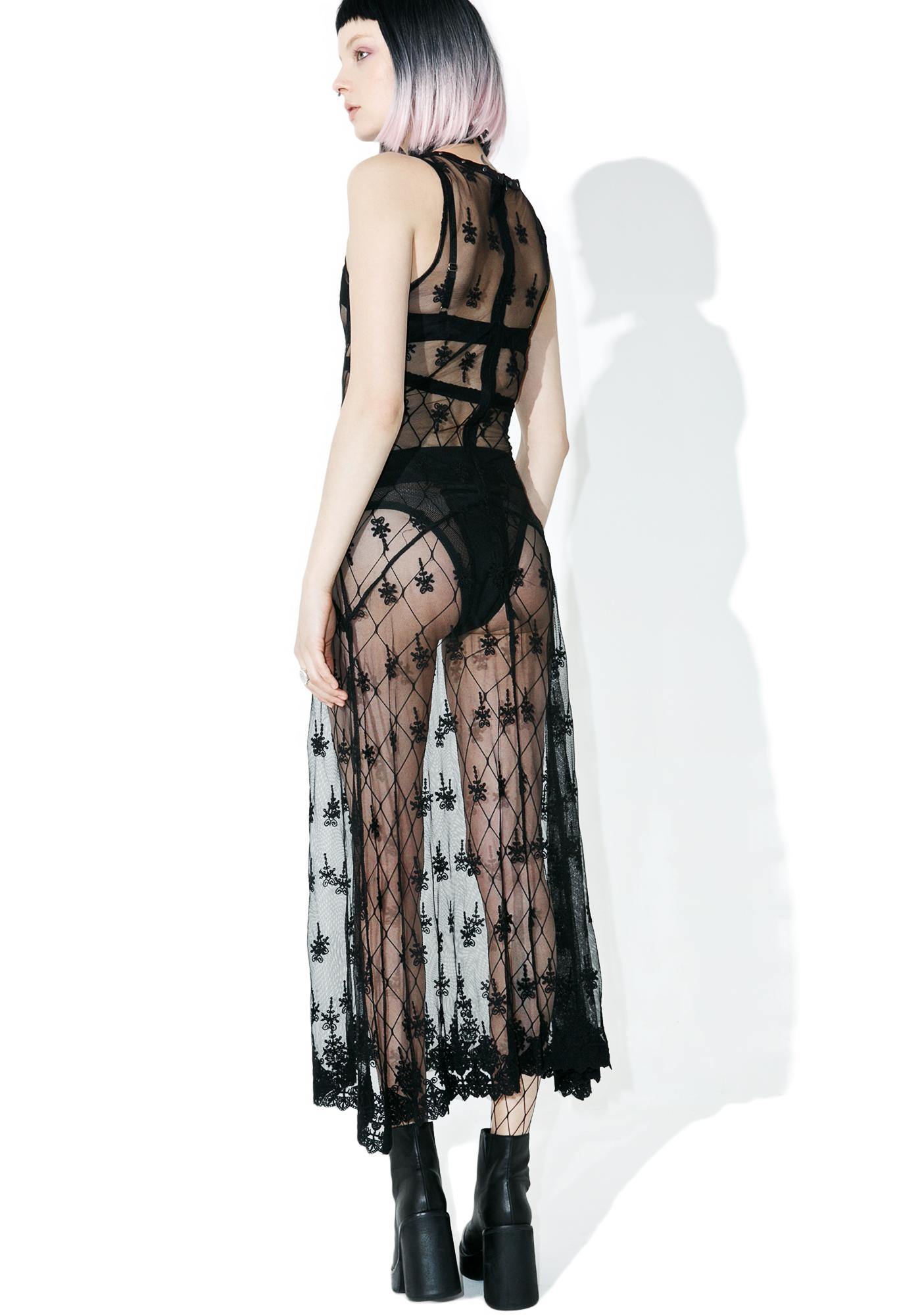 Disturbia Widow Dress