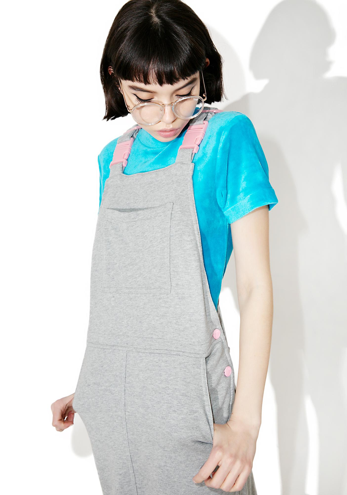 Lazy Oaf Clippy Dungaree Dress