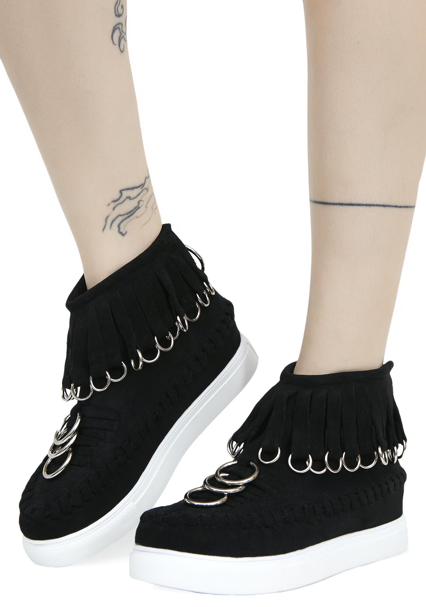 Current Mood Dead Ringer Platform Sneakers