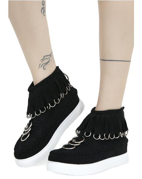 Dead Ringer Platform Sneakers