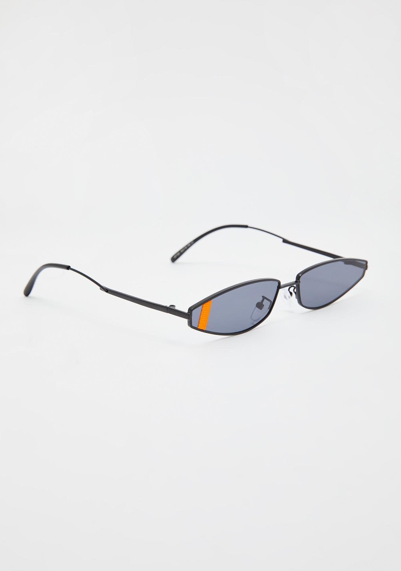 Earn Your Stripes Cat Eye Sunglasses
