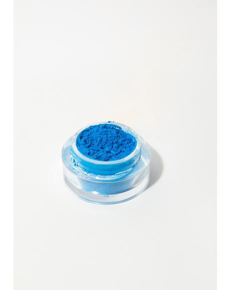 Neon Blue Loose Pigment