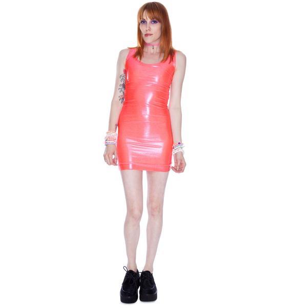 Shine Hole Dress