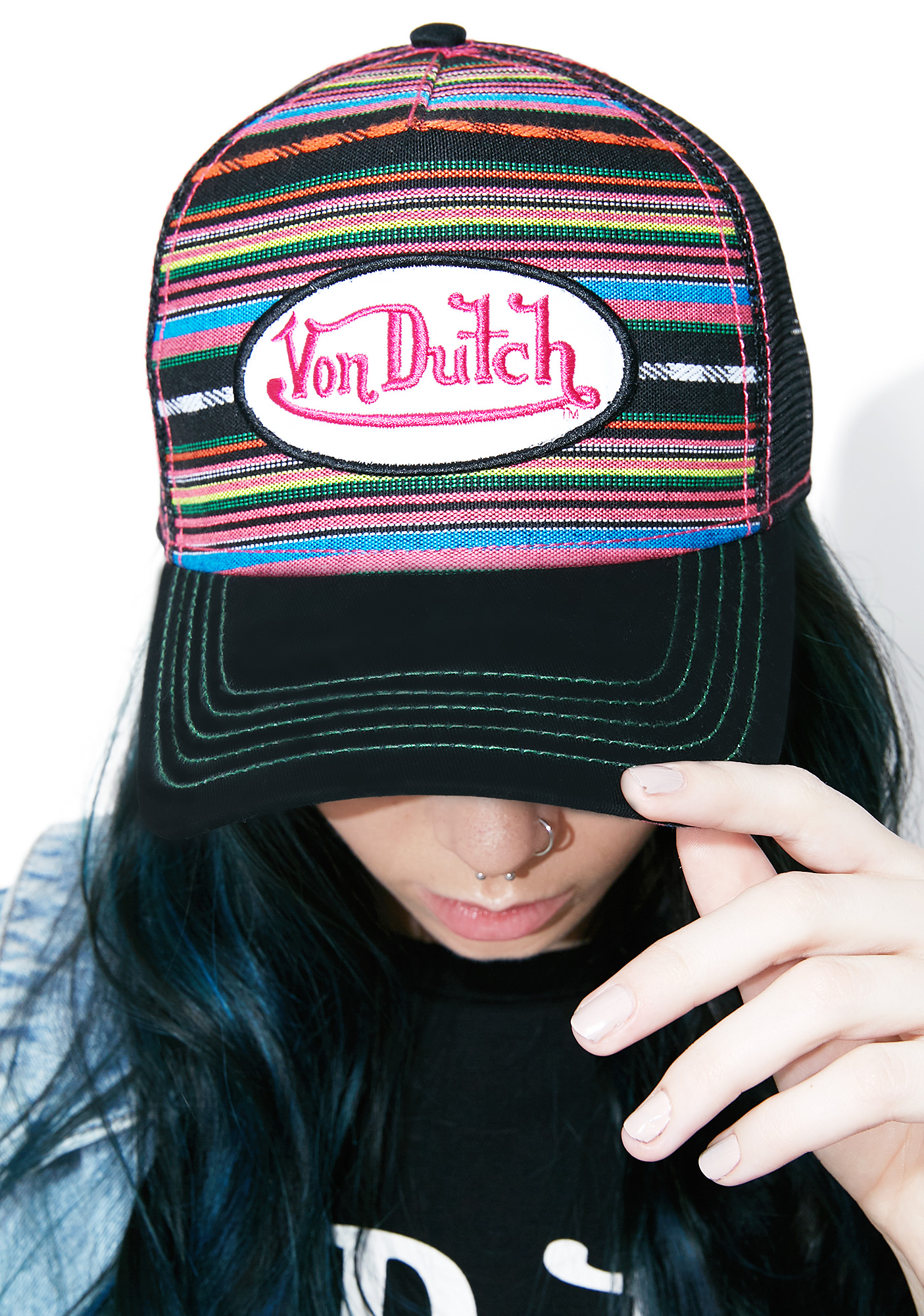 Von Dutch Blanket Hat