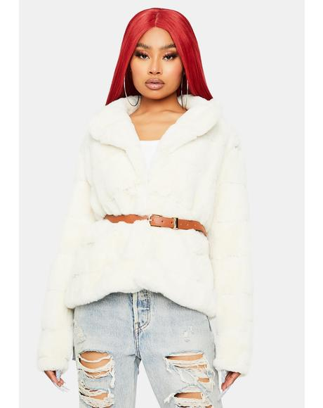 Lavish N' Luxe Faux Fur Jacket