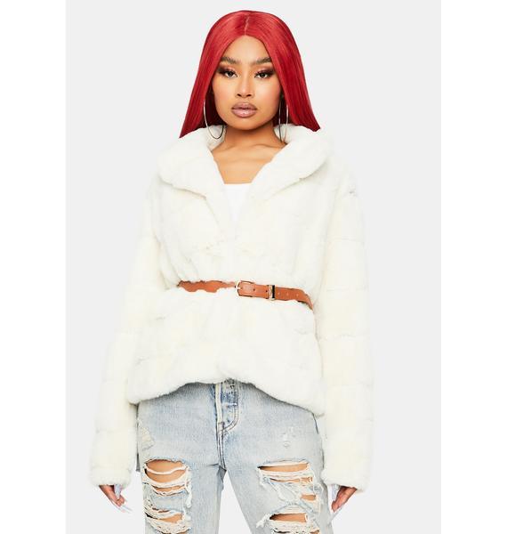 Lavish N' Luxe Faux Fur Jacket