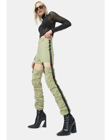 Not So Fast Cutout Pants