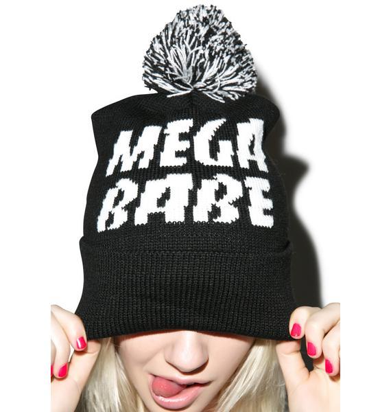 Stay Cute Stay Cute Mega Babe Pom Beanie
