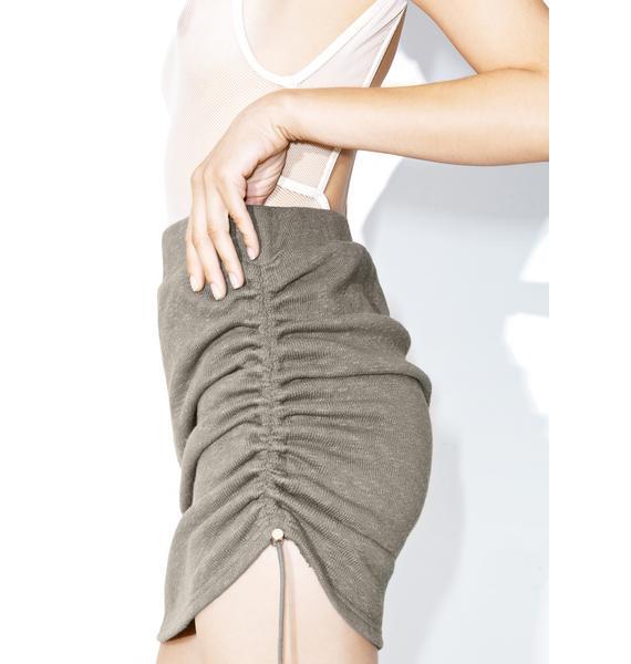 Thirst Trap Drawstring Skirt