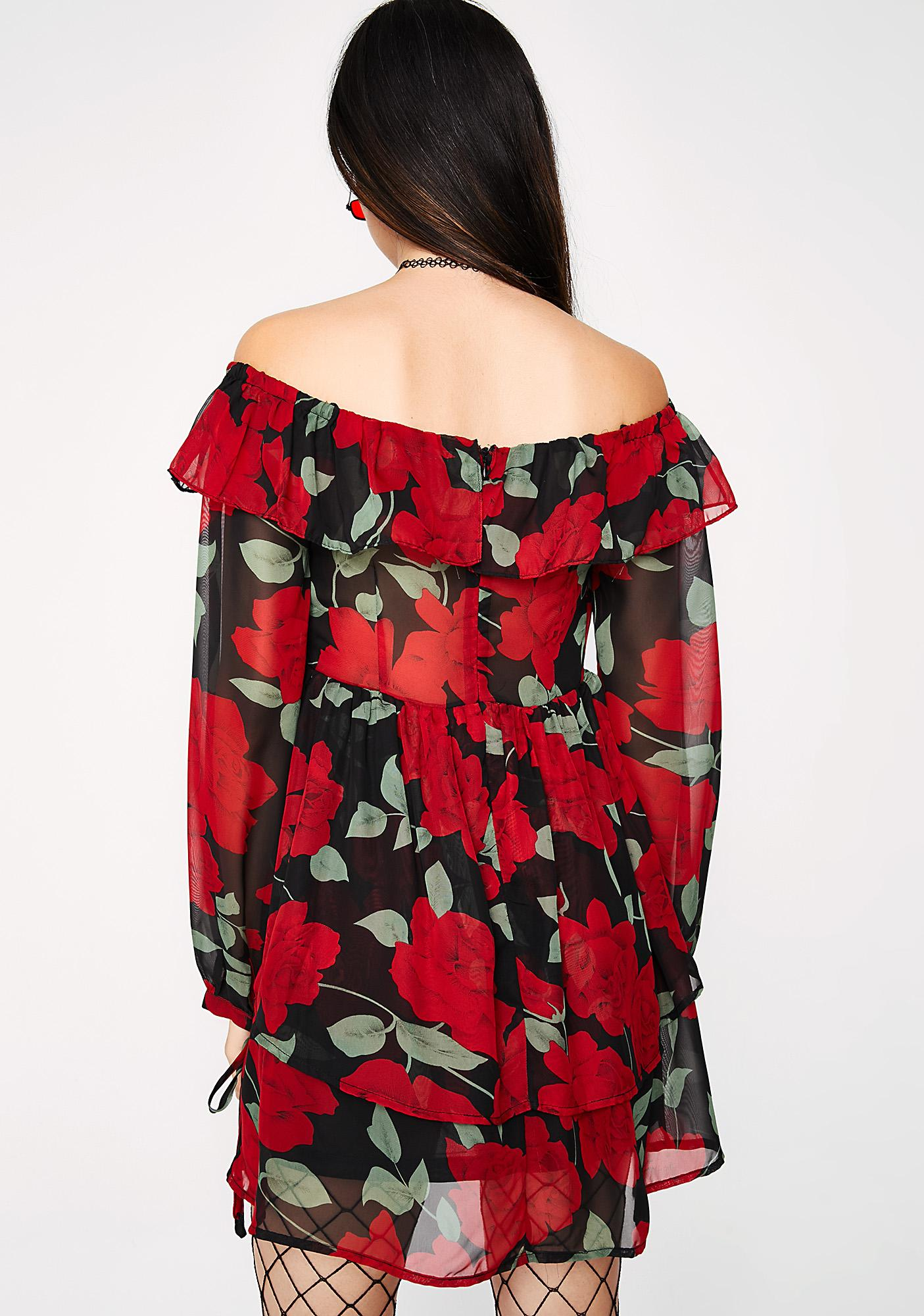 Fiorella Off-Shoulder Dress