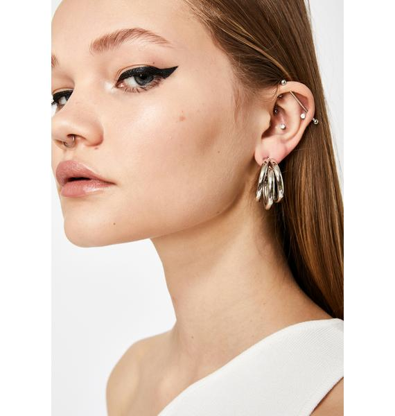 Back For More Hoop Earrings
