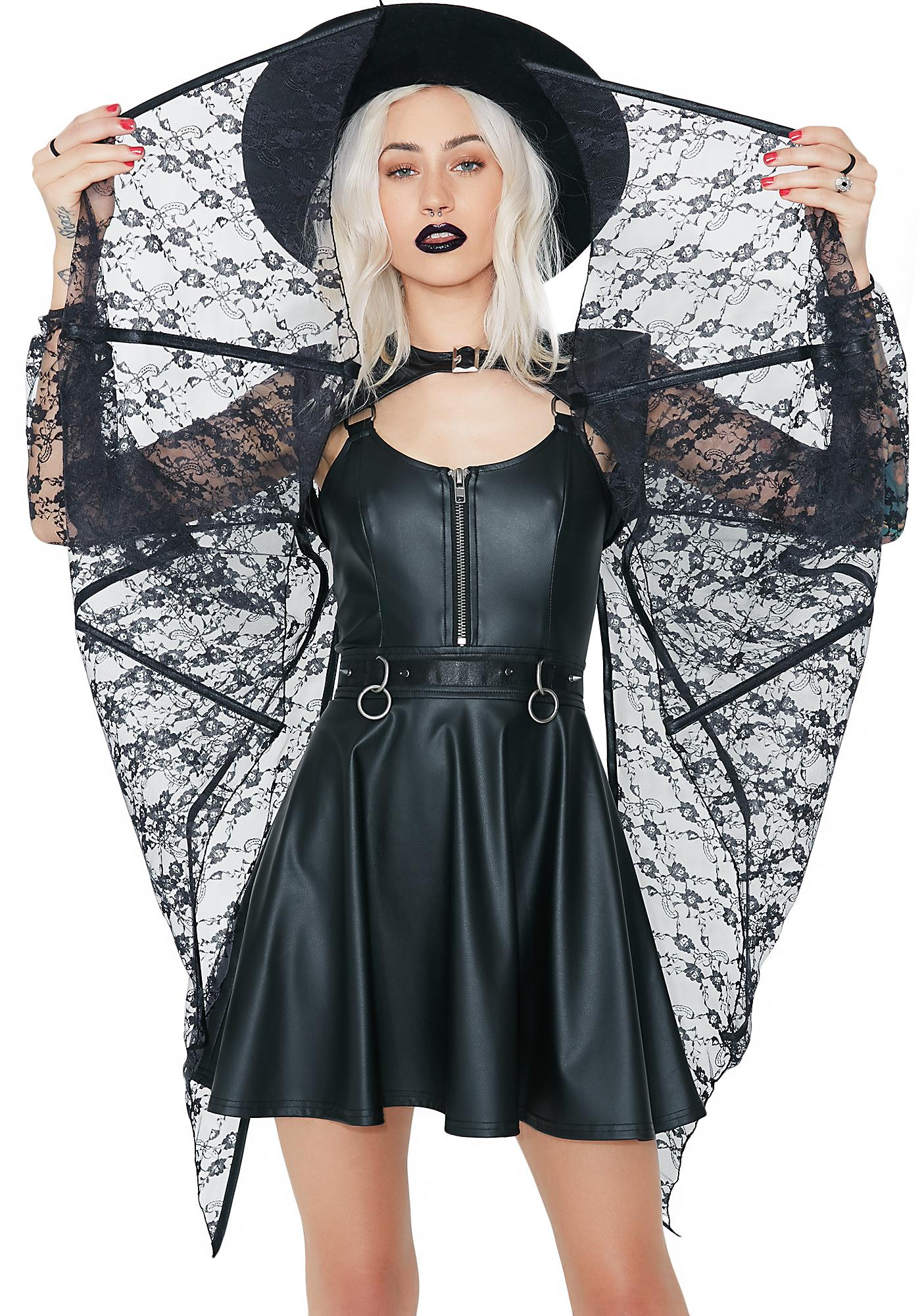 Bat Wing Shrug