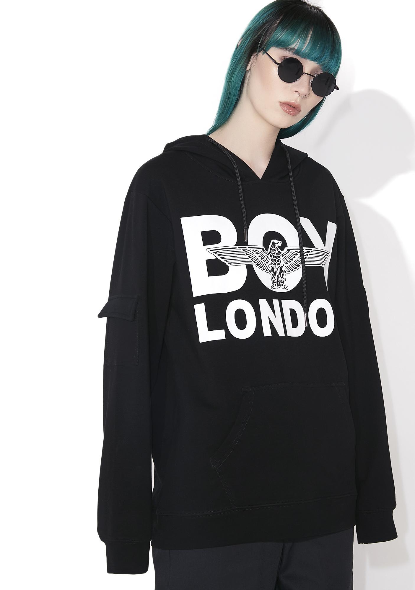 BOY London Midnight Pullover Hoodie