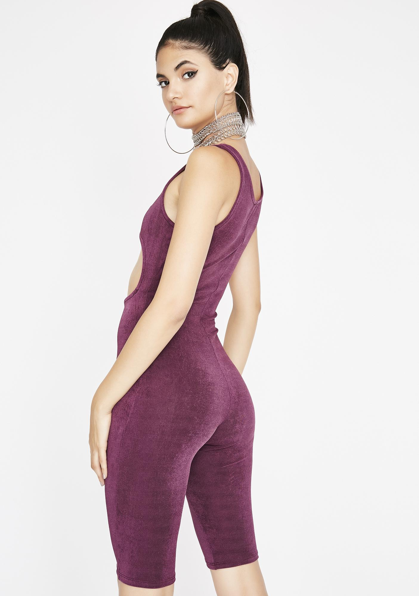 Show N' Tell Cutout Catsuit