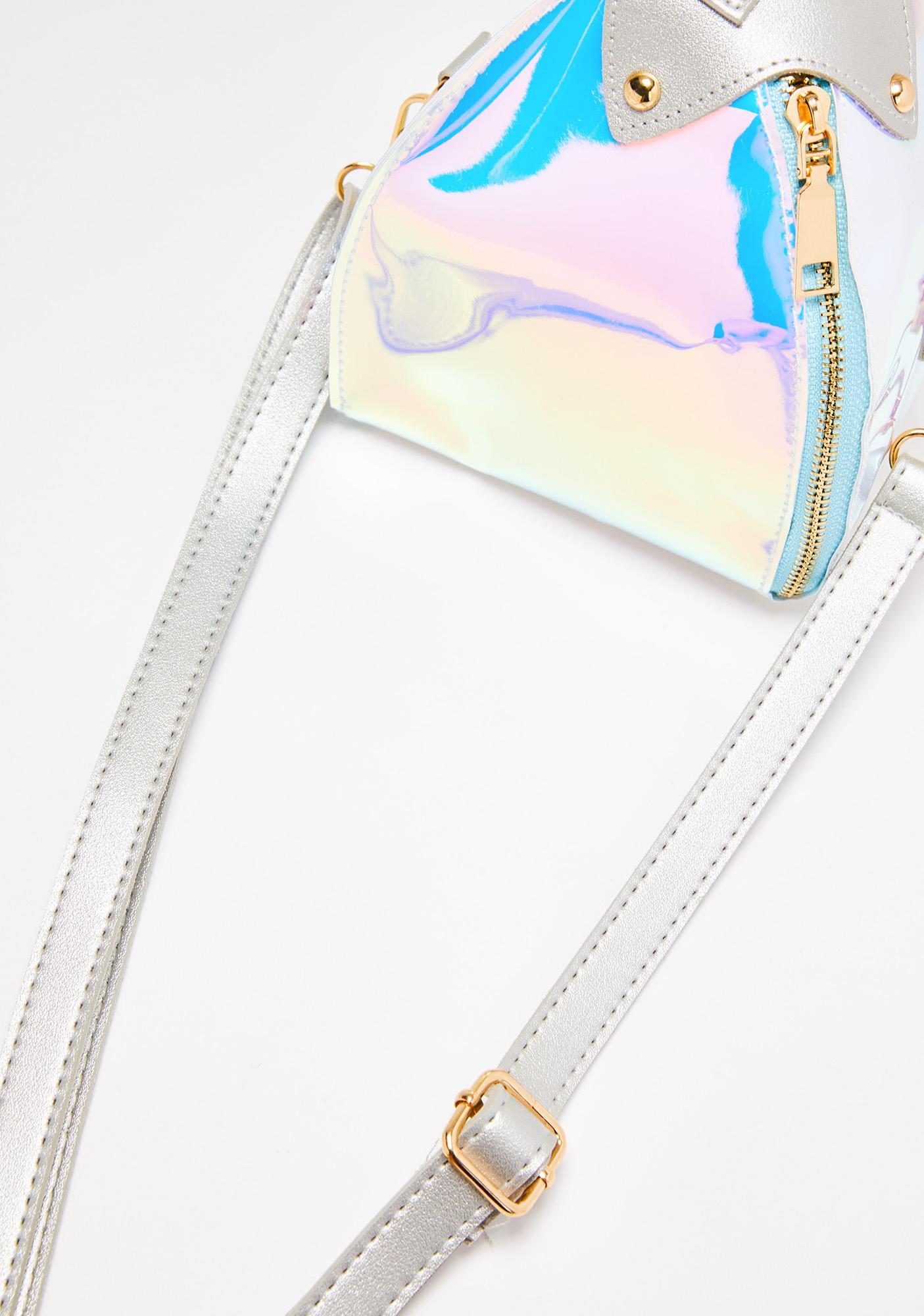 Stardust Reign Holographic Handbag