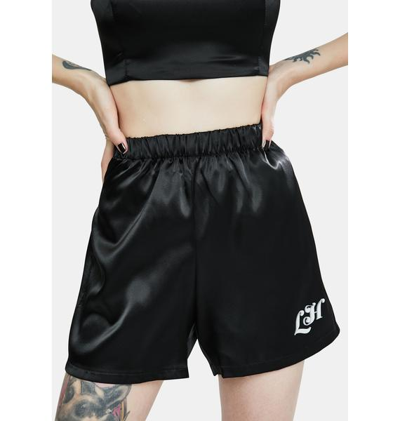 Local Heroes Your Basic Black Shorts