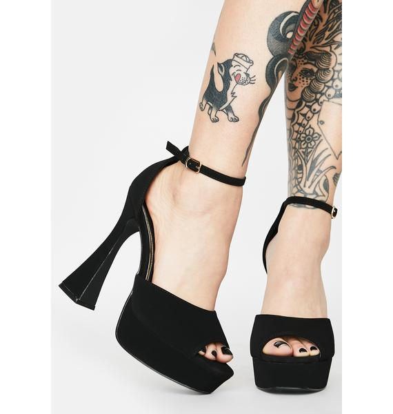 Spooky Honest To Blog Platform Heels