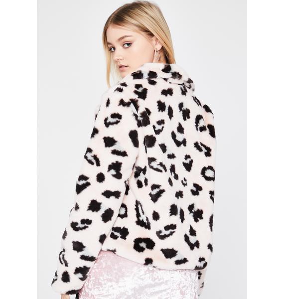 Prissy Instincts Fur Jacket